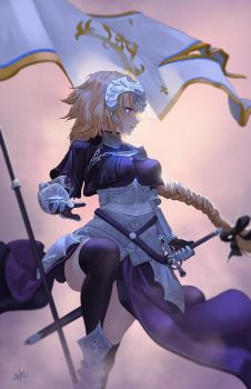 Ruler | Jeanne d'Arc by SteamyTomato