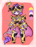 Mecha/TF Cow-mouse monster adopt /closed/ by RadioactiveRays