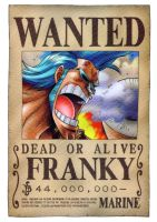 Franky wanted by juju67