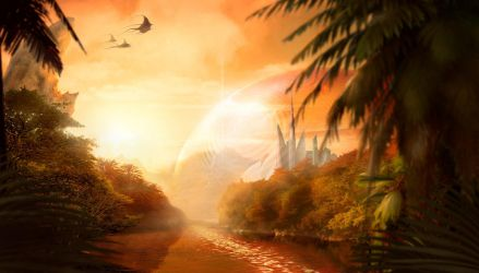 Matte Painting by Semberion