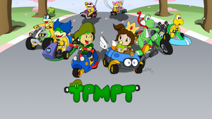 TPMPT Mario Kart 8 Intro Screen by LeafFox