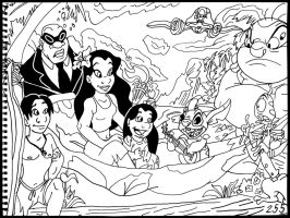 Lilo and Stitch by AverageJoeArtwork