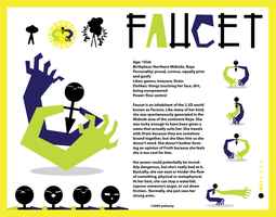 Faucet_ basic character sheet by ynthamy