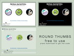 Free Round Thumbs by LineBirgitte