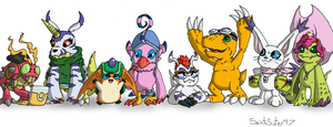Digimon Companions by SaintsSister47