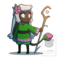 Plant Witch by L-James