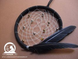 Pentacle Dream Catcher by TheInnerCat