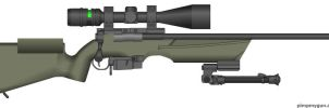 Zbroyar Z-008 Sniper Rifle by Super6-4