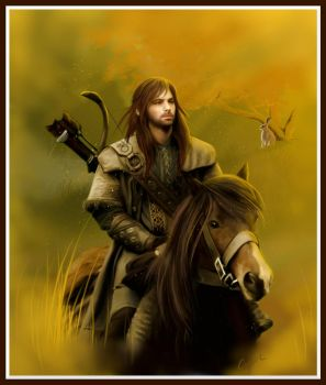 Kili and the hare by Aegileif