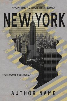 New York Book Cover by DLR-Designs