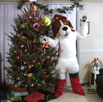 Decorating the Tree by cheesebeagle
