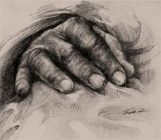 hand practice by Pearlpencil