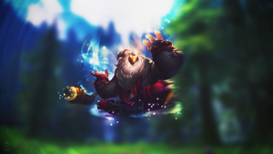 Bard ~ League of legends - Wallpaper by Aynoe