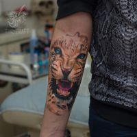 leopardus tattooatoris by black-3G-raven