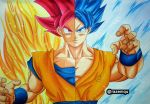 Goku Saiyan God | Super Saiyan Blue