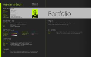 Resume by adnanalsouri