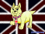Art Commission - British Dog by ArtisticJessy