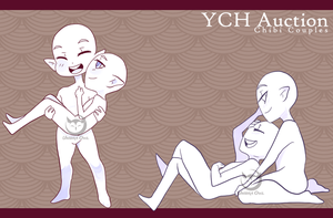 [ YCH Auction ] Chibi Couples II   CLOSED by UmbraOwl