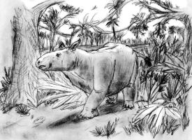 Colombitherium tolimense by Zimices