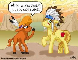 We're A Culture, Not A Costume by TexasUberAlles