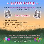 ~ Easter Raffle ~ Win a Custom Outfit incl. OC by CherrysDesigns