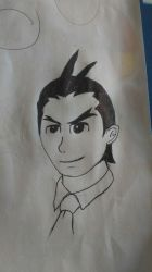Apollo drawing by MinuanoGS