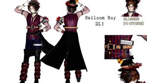[MMDxFNaF] BalloonBoy (Download!) by tvall13