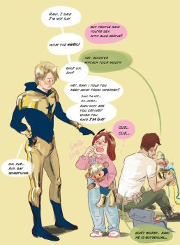 Boostergold, Rani, Riphunter by monster3x
