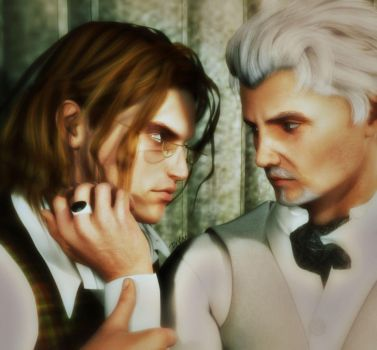 Never Be Over (Albus and Gellert) by deslea