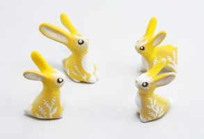 Easter Rabbits by Ailinn-Lein