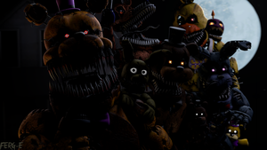 (FNaF SFM) Prepare for a show by Fer-Ge