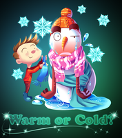 Hot Snowman by Shaolinyan89