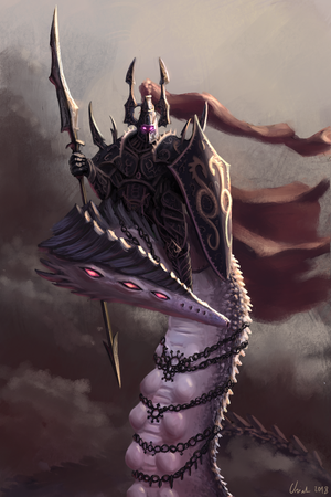 Herald of Slaanesh by Uriak