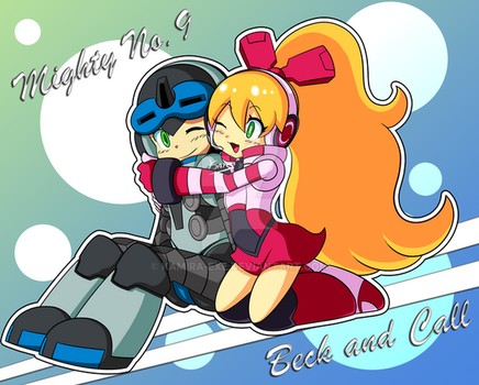 Mighty No 9 - Beck and Call by Kamira-Exe