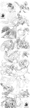 DailySketches: May Edition by DemonML