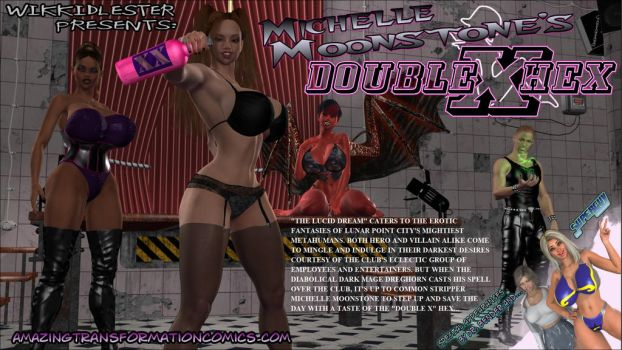 Michelle Moonstone's Double X Hex by WikkidLester