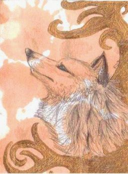 White ACEO by Rianne2k8