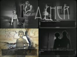 Asher (Visual Novel) by sunlabyrinth