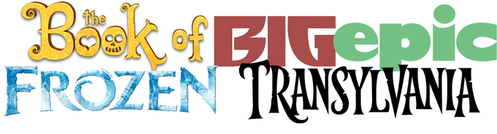The Book of Big Epic Frozen Transylvania Logo by Frie-Ice