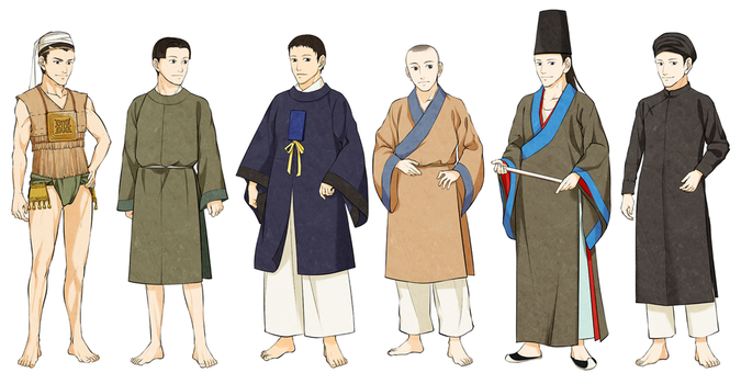 Men's Vietnamese Clothes by Glimja