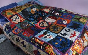 Batman Quilt by Kit-C