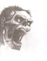 Zombie Screem by triller14