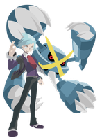 Mega Metagross Steven Stone - Pokemon ORAS Vectors