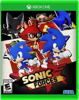 Nibroc's Sonic Forces Boxart XboxOne by Nibroc-Rock