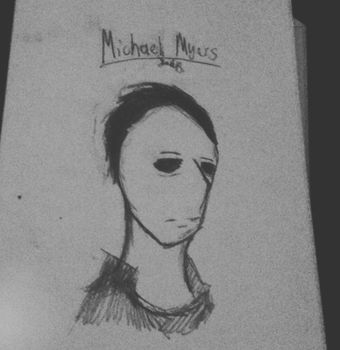 Michael Myers by CakeIsHoly