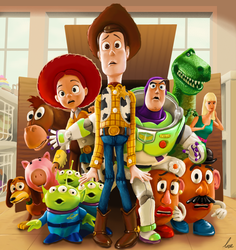 Toy Story by xric