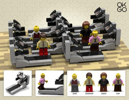 LEGO Ideas - OK Go 'Here It Goes Again' Concept by soak2179
