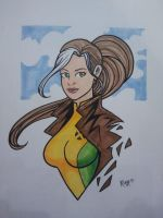 Wizard Philly 2013 - Rogue by RichBernatovech