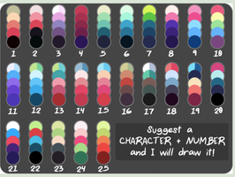 Color Challenge by rhealha13