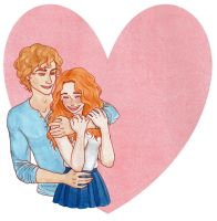 Clary and Jace : Valentine's Day by Naineuh